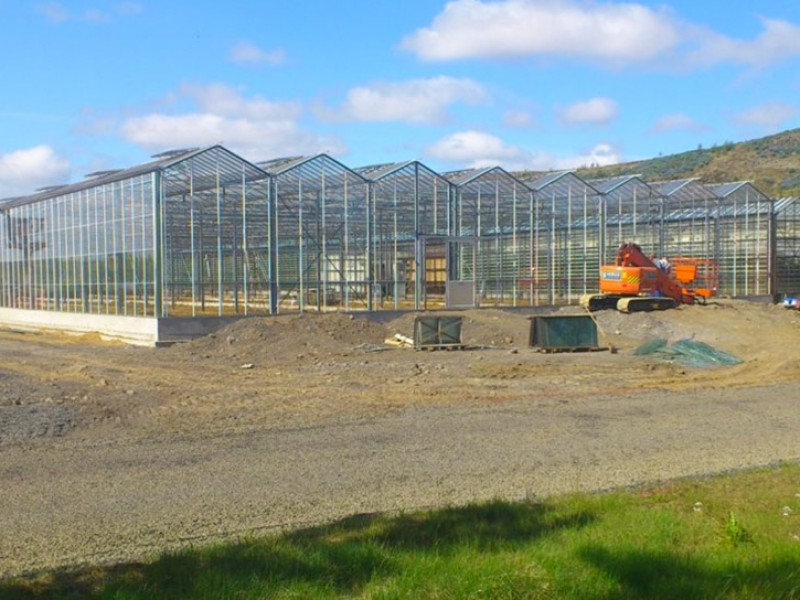 Selfoss IJsland Kassenbouw Olsthoorn Greenhouse Projects 1